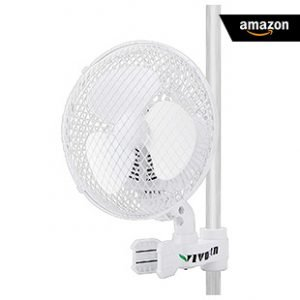 Amazon VIVOSUN-Patented-6-Inch-Clip-on-Oscillating-Fan