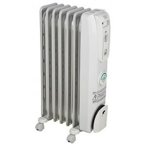 DeLonghi Oil-Filled Radiator Space Heater 1500W